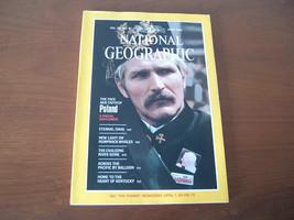 National Geographic April 1982 Vol. 161 NO. 4 The Face & Faith of Poland Sinai - $5.47