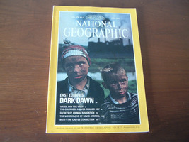 National Geographic June 1991 Vol. 179 NO. 6 Europe's Dark Dawn Lewis Ca... - $5.47
