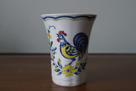 Nikko China Rooster Early Bird Pattern Tea Cup Made in Japan Freezer to Oven - $9.74