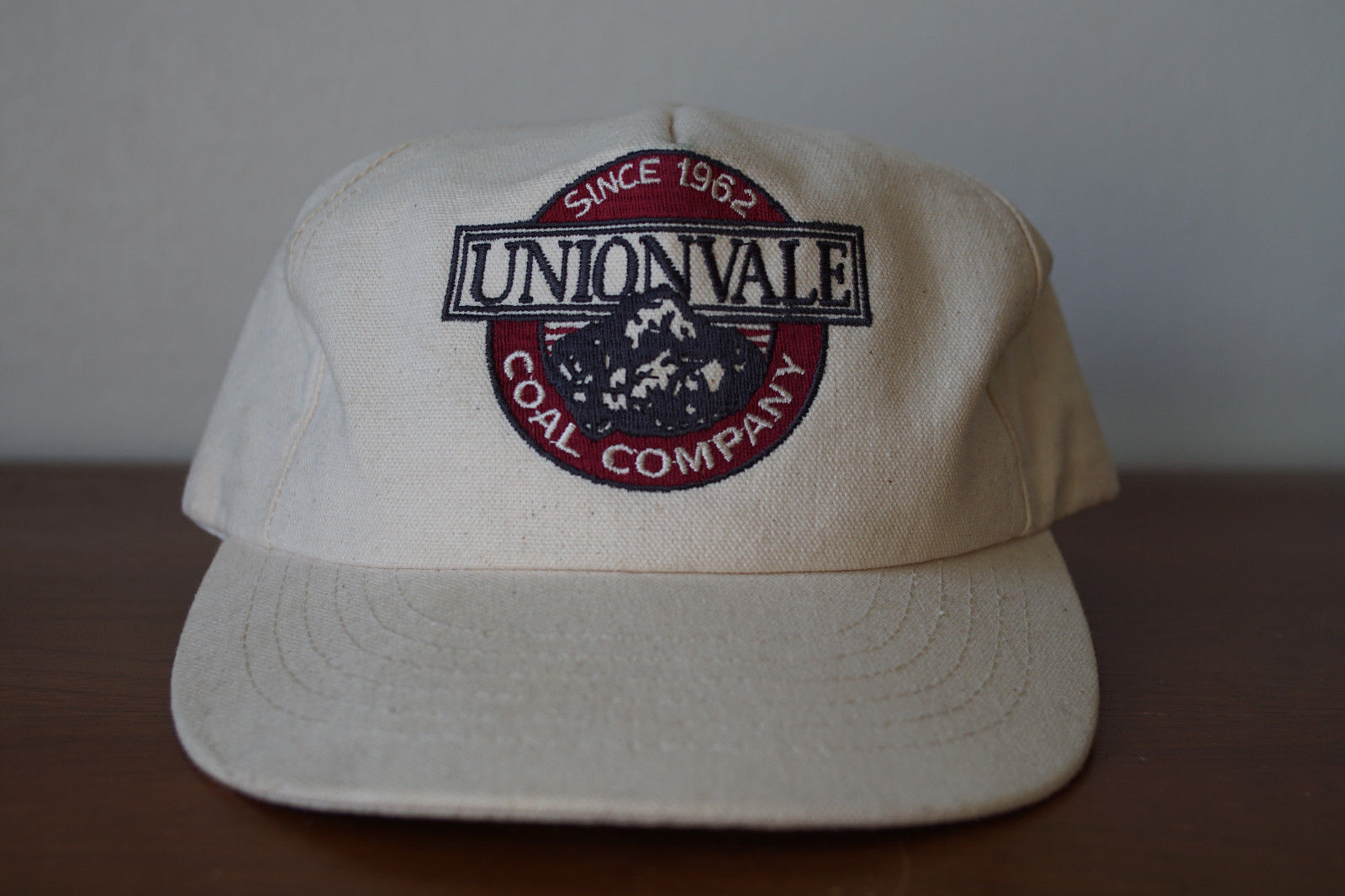 Vintage Unionvale Coal Company Embroidered Cotton Duck Snap Back Trucker Hat  USA -  24.14 39498305849e