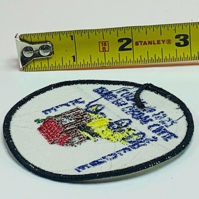 Elks Lodge patch Garden Grove California 1952 badge emblem vintage Enders mcm CA