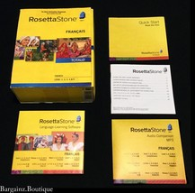 Rosetta Stone TOTALe Version 4 French Levels 1-5 Software PC Mac - No He... - $59.95