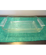 Vintage Pyrex France Glass Rectangle Baking Dish 236F - $10.99