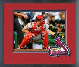 Carson Kelly 2016 St. Louis Cardinals -11x14 Team Logo Matted/Framed Photo  - $42.95