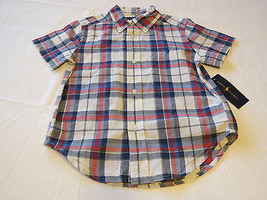 Baby boy's Polo Ralph Lauren 3 3T Toddler button up shirt white red blue... - $49.49