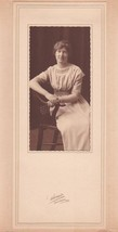 Dorothy Rowe Cabinet Photo - Lincoln Academy, Maine, 1913 Class - $17.50