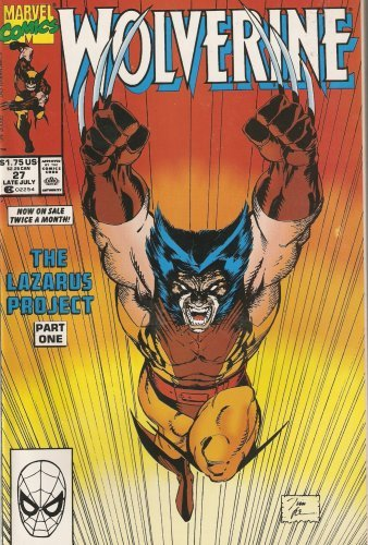 Wolverine #27 (The Lazarus Project Part 1) Late July 1990 [Comic] [Jan 01, 19...