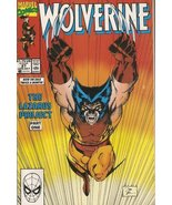Wolverine #27 (The Lazarus Project Part 1) Late July 1990 [Comic] [Jan 0... - $9.99