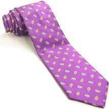 NEW PAUL STUART 58L Palatinate Purple Tear Drop... - $123.75