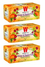 Wissotzky Mango & Passion Fruit, KP 3/20 tea bags - $18.25