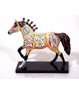 Cheyenne Painted Rawhide Trail of Painted Ponies Horse 12242 1E8734 - $45.00
