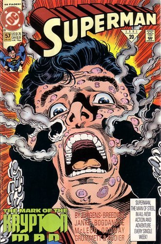 Superman, #57 (Comic Book): THE Mark of the Krypton MAN [Paperback] [Jan 01, ...