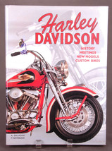 Harley Davidson Hardcover Book-Saladini Szymezak-History Meetings-Motorc... - $14.01