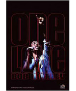 Bob Marley Textile Poster (One Love Live) - $18.00