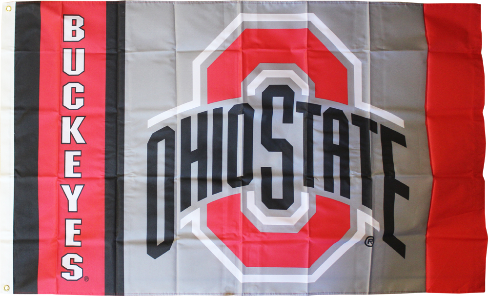 Ohio State - 3' x 5' NCAA Polyester Flag
