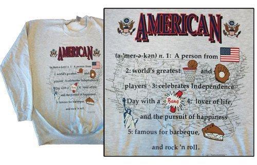 Usa national definition sweatshirt 10246