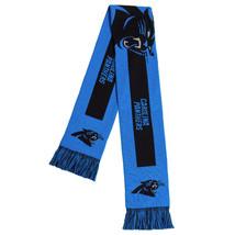 "Nwt Nfl 2016 Big Logo Scarf 64"" By 7"" Carolina Panthers - $18.95"