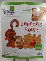 "Janlynn Disney Counted Cross Stitch Kit ""My Room"" Pooh & Tigger 11"" x 14"" - $9.57"