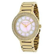 819cfe6305df Michael Kors MK3396 Kerry Pink Dial Gold Tone Ladies Watch -  137.20