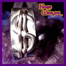 Good Luck Money Magnet Magick Ring 4 Wealth Prosperity! Metaphysical Par... - $299.99