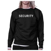 Security Black Sweatshirt Work Out Pullover Fleece Sweatshirts - $20.99+