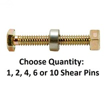 Snowblower Pin Shear w/ Spacer & Nut fits Dual Stage Snow Throwers 301172 - $5.02+