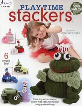 Playtime Stackers Toys 6 Designs Crochet PATTERN - 30 Days to Shop & Pay! - $4.02