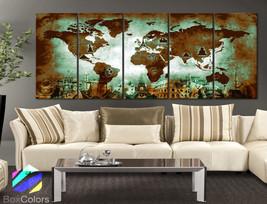 "XLARGE 30""x70"" 5Panels Art Canvas Print Original Wonders of the world Ol... - $139.00"