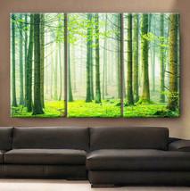 "Large 30x60  3 Panels framed 1.5"" depth Art Canvas Print Spring nature f... - $116.00"