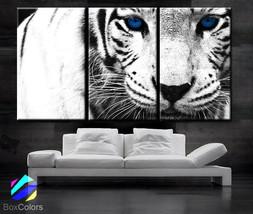 "LARGE 30""x 60"" 3 Panels Art Canvas Print beautiful Snow Leopard animal F... - $116.00"