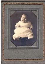 Alberta Jean Williams Cabinet Photo of Baby Born 8-13-1926 - Morenci, MI - $17.50