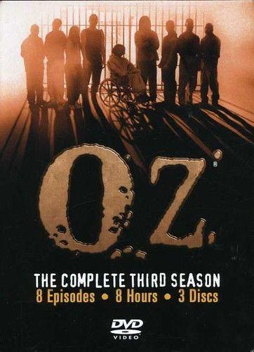 Oz: The Complete Third Season 3 (DVD Set) New TV Series