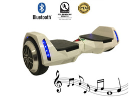 "MR6 Bluetooth Batman White Hoverboard 6.5"" - UL2272 certified - $149.00"