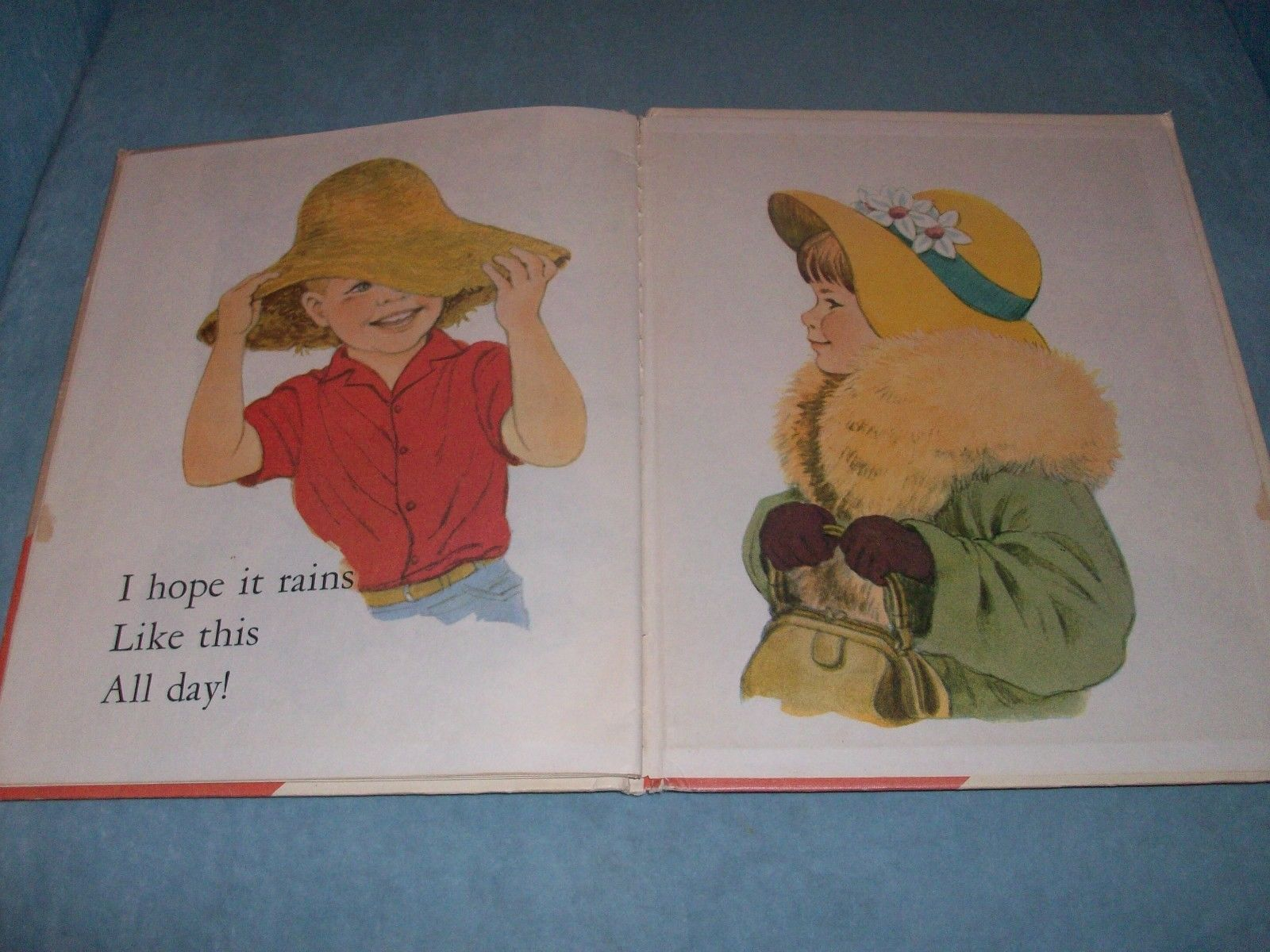 1967 The Treasure Trunk  A Start-Right Elf Book  BIG EDITION  #7904  Very Good!
