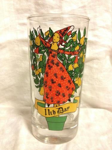 Indiana Glass 12 Days of Christmas 11th Day Ladies Dancing 12 0z