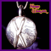 Gebo Rune Pendant Friendship Gifts & Connection to The Gods! Metaphysical Magick - $299.99