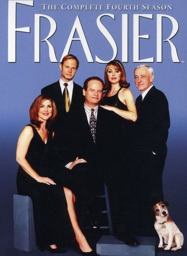 Frasier: The Complete Fourth Season 4 (DVD Box Set) TV Comedy Series New