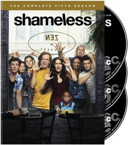 Shameless The Complete Fifth Season 5 (DVD,  3-Disc Set) TV Comedy Series New