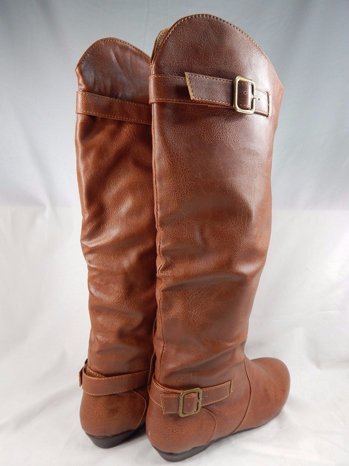 MISMATCH Chinese Laundry Nice Shot Knee High Boots Women Sz US RIGHT 7 LEFT 7.5