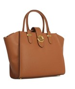 NEW WOMEN'S RALPH LAUREN CHARLESTON SHOPPER TAN... - $156.74