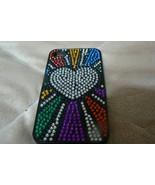 Victoria Secret iphone 4 Cover Multi-Colored Beaded Cover - $4.46