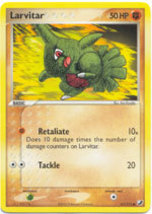 Larvitar 61/115 Common EX Unseen Forces Pokemon Card - $0.50
