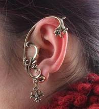 Vintage Punk Style Vine Stud Earring(Color:Antique Bronze/Antique Silver) - $4.99