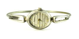 Vintage Women's 17mm Striped Dial Armitron Bangle Wristwatch Quartz Not ... - $7.91