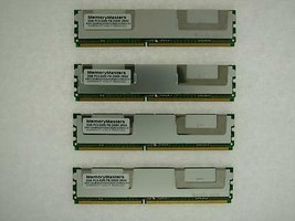 8GB (4x2GB) Mémoire RAM 4 HP/Compaq Station xw8400 (DDR2-PC5300, Entièrement