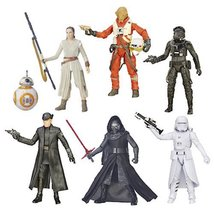 Star Wars TFA Black Series 6-Inch Action Figure... - $114.60