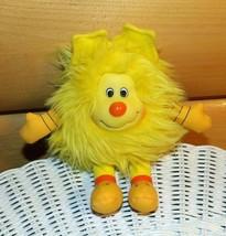 "Rainbow Brite Plush Yellow Spark Sprite 7"" Hallmark Brings Smiles - $8.29"