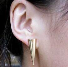 Cool Punk Style Rivet Stud Earrings - $4.99