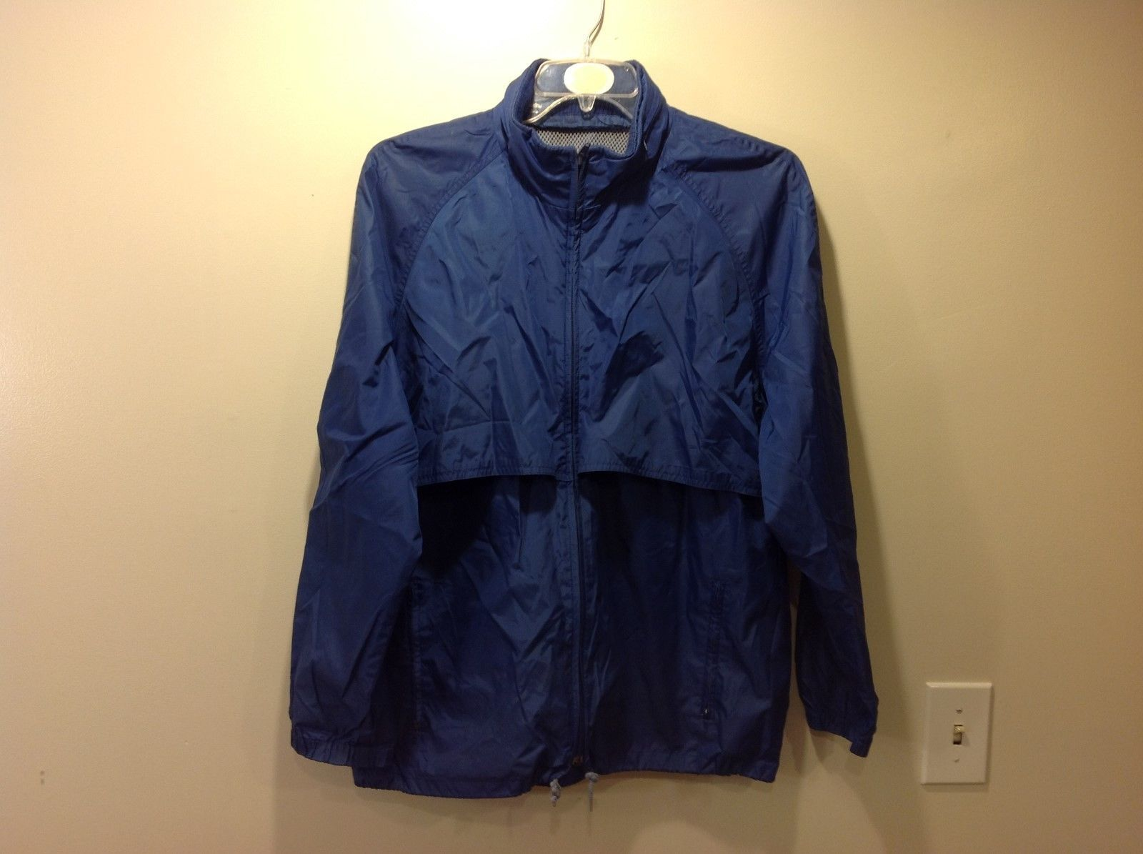 Blue Windbreaker