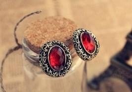 Faux Gem Earrings - $4.99